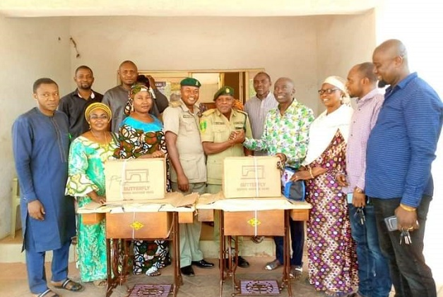 Ankpa LG Chairman Donates Sewing Machines to Correctional Center