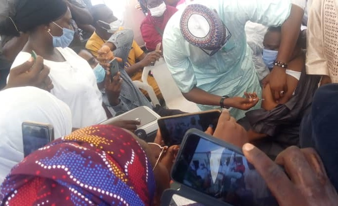 COVID-19 Vaccination Begins in Kogi, Prioritises Health Workers